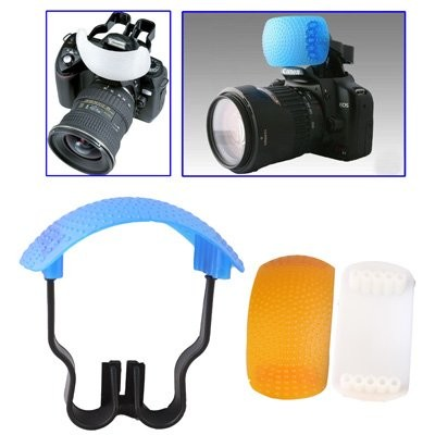Clixsy-Pop-up-Flash-Soft-Flash-Kit-diffusore-diffusore-bianco-blu-diffusore-Arancio-diffusore-Diffusore-staffa-0