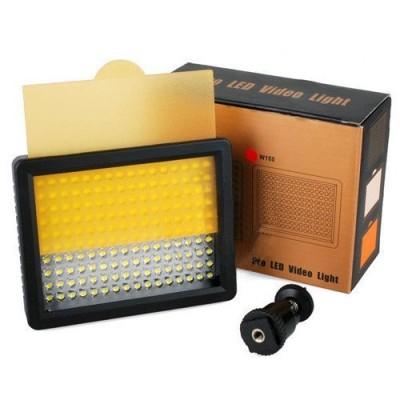 Colore-cambiato-da-5600K-a-3200K-Wansen-W160-LED-Luce-video-a-telecamera-per-Sony-Canon-Panasonic-Hitachi-vittoria-Samsung-con-fino-a-2-ore-di-uso-continuo-160-Lampadine-LED-0